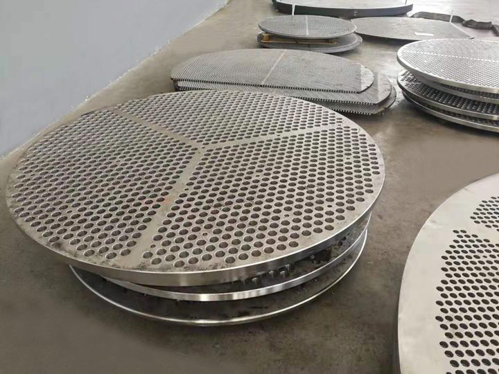 换热器管板深孔加工